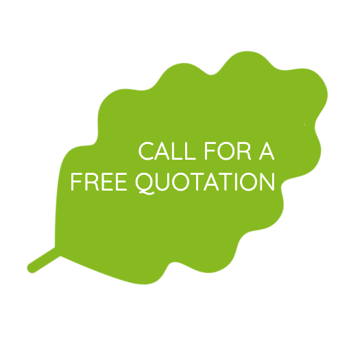 CALL FOR A FREE QUOTATION leaf